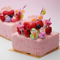 レニエのひな祭りケーキ